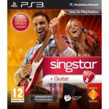 SingStar Guitar Star Solus Game PS3 Brand New