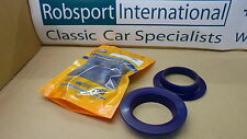 Triumph TR6 TR4 ** Front SPRING ISOLATOR IN POLY- PAIR ** TR3 TR5 etc.