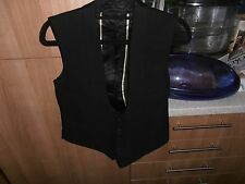 VTG Men's Tailored 1920s Scoop Front  Evening Black Tie Waistcoat size 36