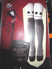 Jack Skellington Tights Nightmare Before Christmas Halloween One Size Jack Face