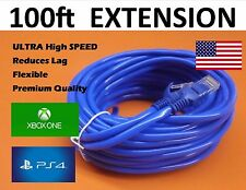 EXTENSION cable 100ft xBOX one 100 feet game internet extender cord connection