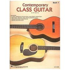 1982 Contemporary Class Guitar Paperback Book 1 by Will Schmid