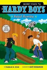 Robot Rumble (Hardy Boys: The Secret Files)-ExLibrary
