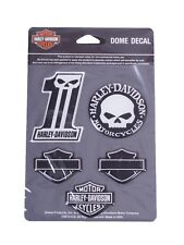 Harley Davidson Sticker 3D Model No. 1 Decal Bar & Shields Set
