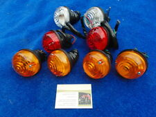 LAND ROVER DEFENDER UP T0 93  SET OF 8 LIGHT INDICATOR & TAIL LAMPS