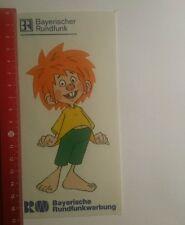 Aufkleber/Sticker: Bayerische Rundfunkwerbung Bayerischer Rundfunk (24101652)