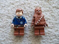 LEGO Star Wars - Rare - Han Solo & Chewbacca Minifigs - Excellent - From 6212