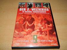 Der 2. Weltkrieg in original Farbaufnahmen - Teil 3 - Triumph und Niederlage DVD