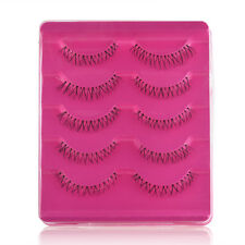 5 Pairs Lower Under Bottom False Eyelashes Eye Lashes Makeup Party