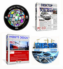 Desktop Publisher Web Builder + Website Design Suite Web Page Creating PC CD