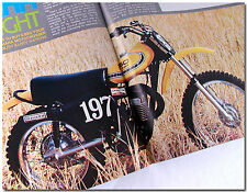 72 MAGAZINE YAMAHA YZ360 X-LIGHT HONDA RC125M SUPERBOWL OF MOTOCROSS KAWASAKI Z1