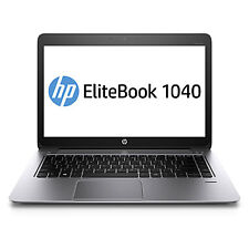 "HP EliteBook FOLIO 1040 G1 14"" i5-4210U 1.70GHz 4GB RAM 128SSD WEBCAM W7P"