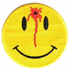 Shot Smiley GUN NRA Funny MC Club Embroidered Motorcycle Biker Patch PAT-2464