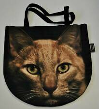 CLEARANCE! 3D bag animal with GOLD CAT Handmade! WITHOUT a inner pocket!