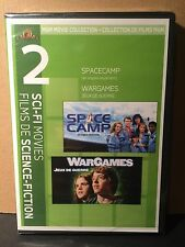 SPACECAMP WARGAMES DVD Double Feature BRAND NEW Sealed Lea Thompson