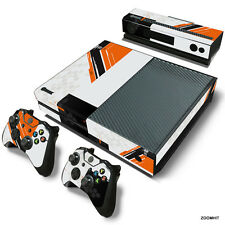 Xbox One Console Skin Decal Sticker TitanFall + 2 Controller & Kinect Skins Set