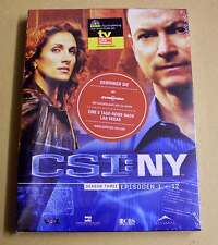 DVD Box CSI: NY Staffel Season 3 Three Drei - Epsioden 1 - 12 DVDs 3.1 Neu OVP