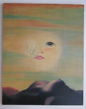 VINTAGE Oil Painting. Listed Artist ENNEMOSER Surrealism Contemporary Artist.