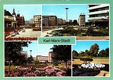 Karl-Marx-Stadt ( DDR ), Ansichtskarte ungel.