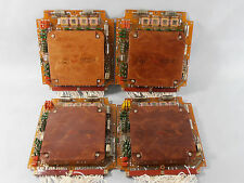 VERY RARE! FERRITE CORE PLANE MEMORY 4Pcs BOARD USSR MILITARY AVIATION AIR FORCE