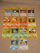 Mixed Lot of 14 1996 Pokemon Monster Japanese Game Cards, Holo, Foil, Trainer ..