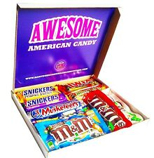 Awesome Mars American Chocolate & Candy Selection Box - 3 Musketeers, Twix, MM's
