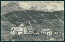 Trento Moena di Fassa Mappa cartolina VK0971
