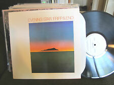 Fripp & Eno robert brian LP Evening Star Editions EG EGS103 cluster electronic!