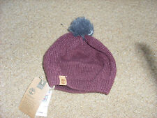 Ladies Womens Timberland Sampson Mohair blend Relaxed bobble beanie one size