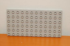 Lego DUPLO 6X12 Plate Base Plate- Light Grey Gray