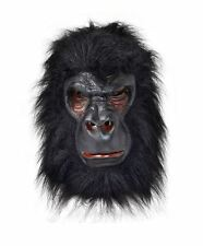 BLACK GORILLA KING KONG MONKEY APE JUNGLE ZOO ANIMAL OVERHEAD MASK