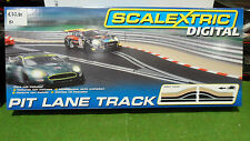 PIT LANE TRACK RIGHT HAND PISTE DE STAND DIGITAL 1/32 SCALEXTRIC C7015 circuit