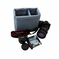 DB25 Insert Partition Padded Camera Bags Case For Nikon D3100 D3200 D5100 D5200