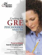 Cracking the GRE Psychology Subject Test, 7th Edition, Princeton Review, Good Co