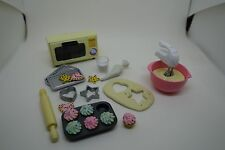 megahouse diorama lot cooking food fits barbie fashion royalty etc