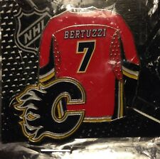 NHL Calgary Flames Todd Bertuzzi Jersey Pin, Badge, Lapel, NEW, JF SPORTS
