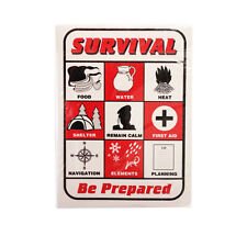 Survival Playing Cards - emergency outdoor survival kit NEW