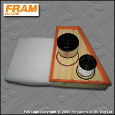 SERVICE KIT FORD S-MAX 2.0 TDCI FRAM OIL AIR FUEL CABIN FILTERS (2006-2010)