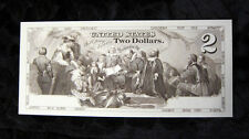 Proposed $2 Two Dollars Intaglio Proof Note Embarkation of the Pilgrims USA UNC