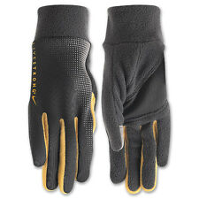 Nike Livestrong Tech Thermal Running Gloves Anthracite/Maize Women's Medium BNWT