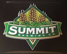 Summit Brewing Co. - Beer Signs Decals Stickers - Minnesota USA - NOS - Man Cave