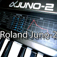 ROLAND Juno-2 Huge Original Factory & new Created Sound Library & Editors on CD