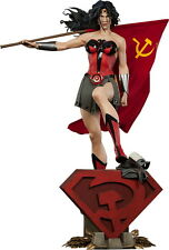 Wonder Woman Red Son Premium Format Figure Statue Sideshow Collectibles DC Comic