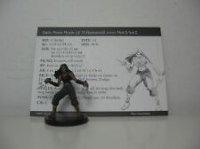 D&D Pathfinder Dungeons and Dragons Miniatures Archfiends 2004 Dark Moon Monk