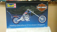 REVELL 1/8 Scale Motorcycle Model Kit Harley-Davidson Freedom Chopper #85-7307