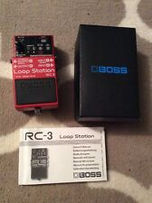 Boss RC-3 Loop Station Pedal Looper  w/ Box & Manual