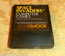 SPACE INVADERS cartridge for Atari 400/800/XL/XE computer COMES GUARANTEED GAME