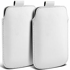 Twin Pack PU Leather Pull Tab Case Cover Pouch For Nokia N8