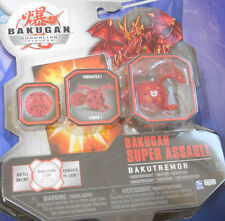 BAKUGAN VENTUS Bakutremor Quake Dragonoid Red Pyrus Drago Original Sealed 2009!