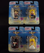 Sailor Moon Clip On Toys, Full Set of 12 In Sealed Case, Brand new set of 12